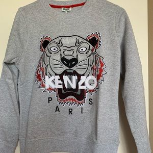 KENZO Paris tiger pull over sweater